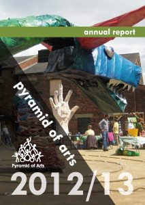 cover of the 2012-2013 annual report