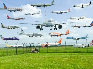 Aeroplane Collage by Andrew Towse