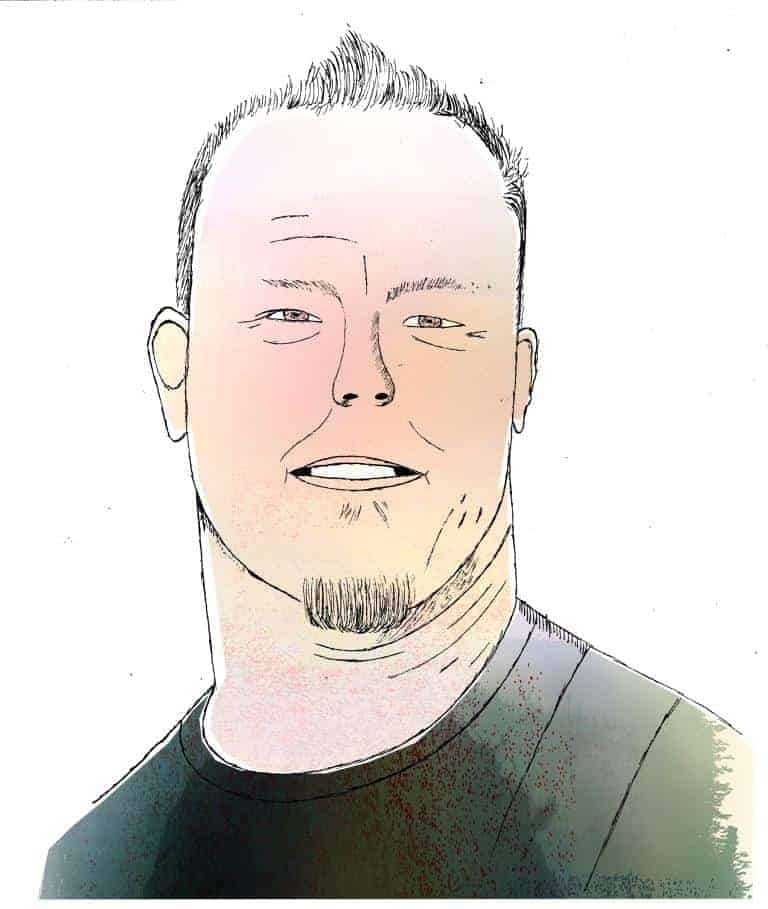 Mr Metallica by Adam Bainbridge