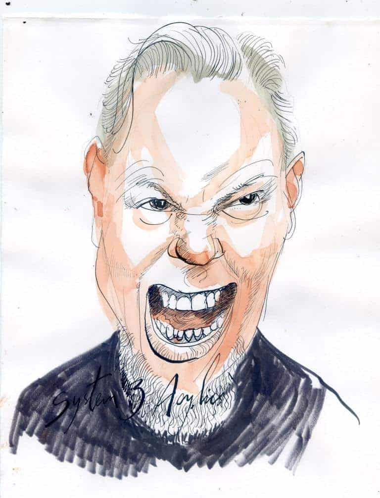 Mr Metallica by Pete Hudspith