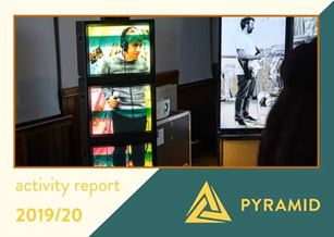 cover of the 2019-2020 activity report