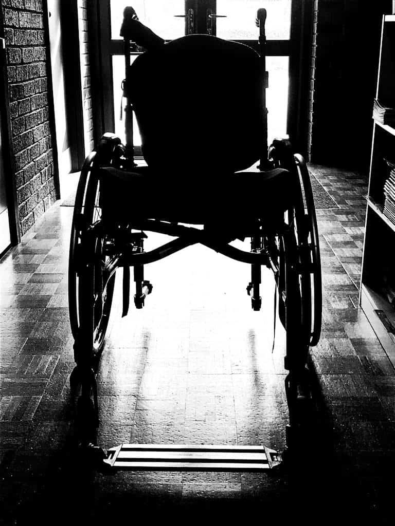 Wheelchair - Alfie Fox